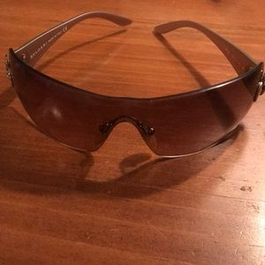 BVLGARI rimless shield sunglasses